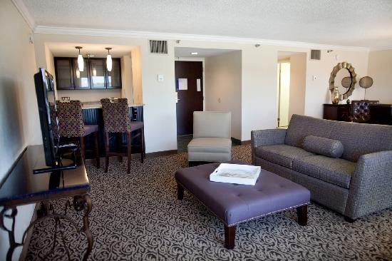 Hilton Greenville : Presidential Suite