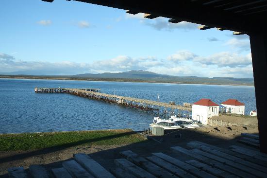 The Singular Patagonia: Vista da janela dos apartamentos