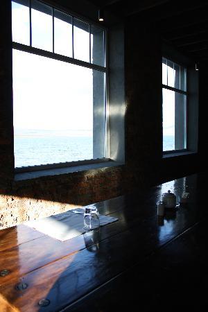 The Singular Patagonia: Detalhe da vista do restaurante aonde é servido o café da manhã