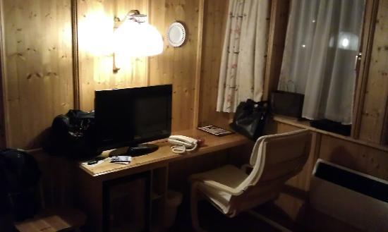 """Hotel Monika: """"Arbeitsbereich"""
