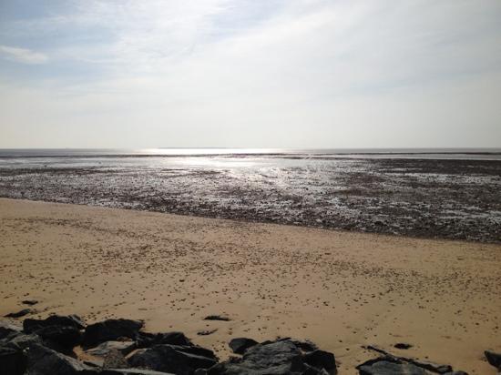 Chatelaillon-Plage, Frankrike: à marée basse