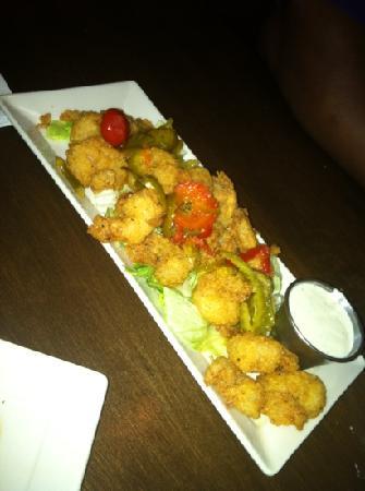 Tsunami Japanese Restaurant: firecracker shrimp