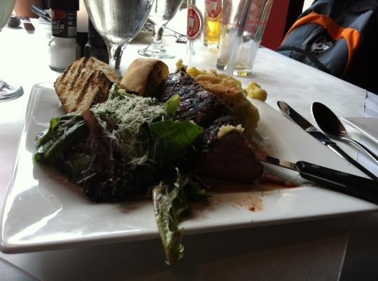 Jamestown, NY: Steak! Indeed…I mean, I need :)