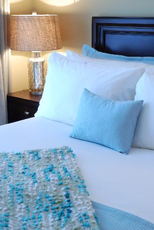 124 on Queen Hotel and Spa: High Thread Count French Sheets