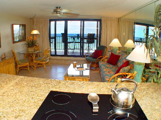 Kaleialoha Condominiums : Cook with an ocean View!