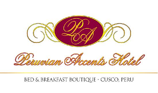 Peruvian Accents Hotel: Our hotel LOGO