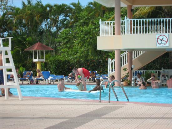 Puerto Plata Village Resort: in the pool
