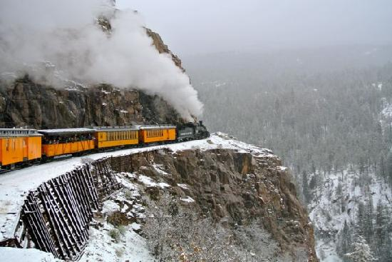 Durango and Silverton Narrow Gauge Railroad and Museum: Spectacular Scenery