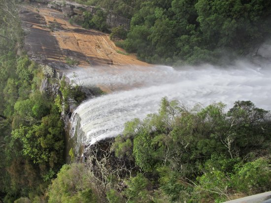 Fitzroy Falls: From the observation platform.