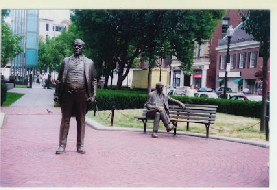 Irish Heritage Trail: James M. Curley Statues in Boston