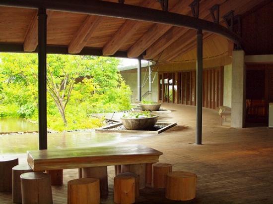 The Kochi Prefectural Makino Botanical Garden: 建物もすごく素敵です
