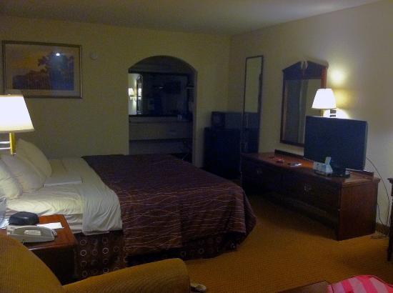 Americas Best Value Inn - Denham Springs / Baton Rouge: Not pictured was the old couch- otherwise a nice stay!