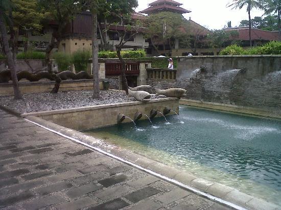 INTERCONTINENTAL Bali Resort : fountain