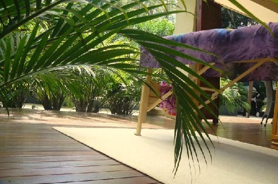 Essential Bodywork: Outdoor massage on the deck - a summer treat