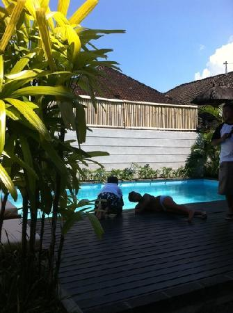 Letos Kubu: the pool, the kid's favourite