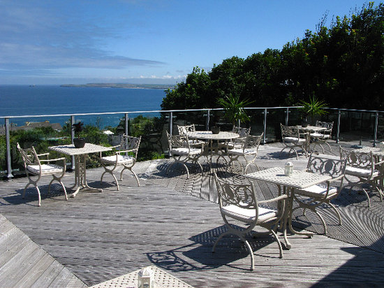 Carbis Bay, UK: Terrace