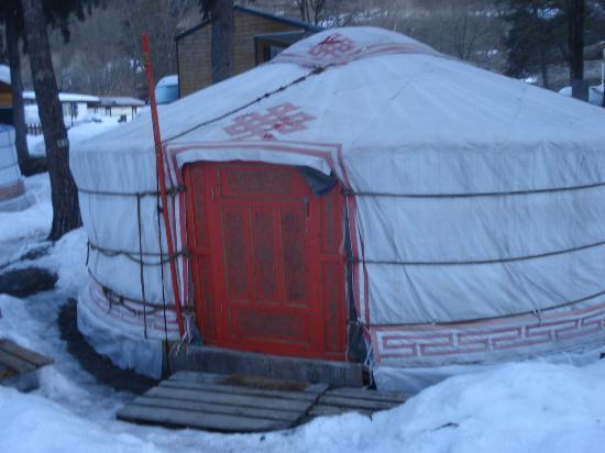 Camping le Reclus: Yourte