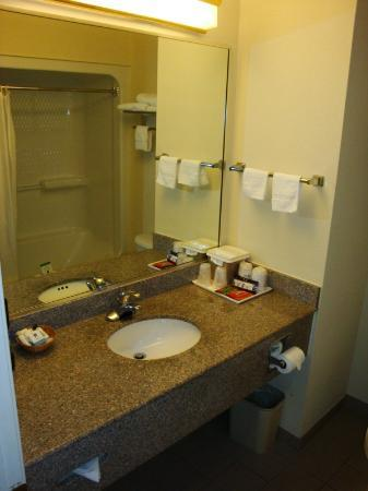 BEST WESTERN Galleria Inn & Suites: Bathroom