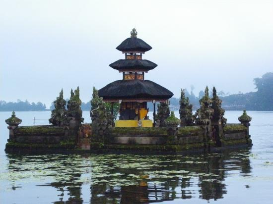 Bali, Endonezya: Temple of lake Bratan