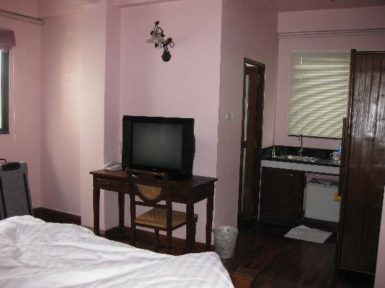Sourire @ Rattanakosin Island: Zimmer im 4. OG