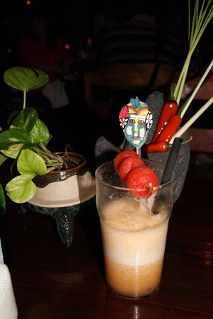 Bumbu Bali: Drinks with dinner