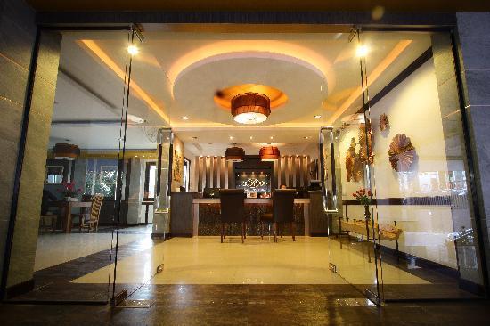 Romena Grand Hotel: Lobby-Reception