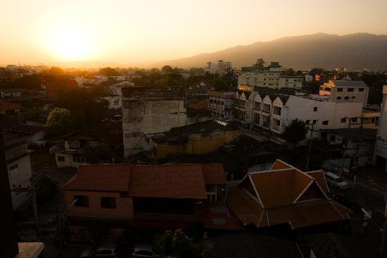 Romena Grand Hotel: Mountain view