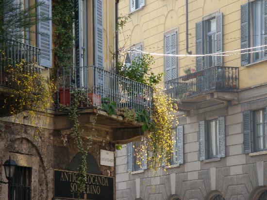 Antica Locanda Solferino : I nostri balconi fioriti
