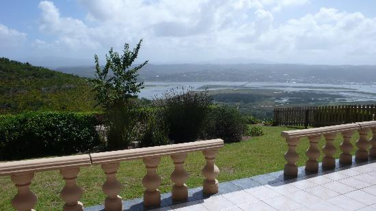 Brenton Hill Self Catering: View from the Weavers Nest terrace