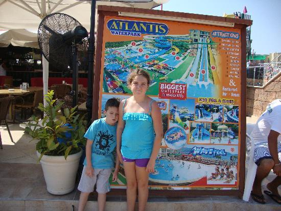 Marmaris Atlantis Waterpark: the front of the park