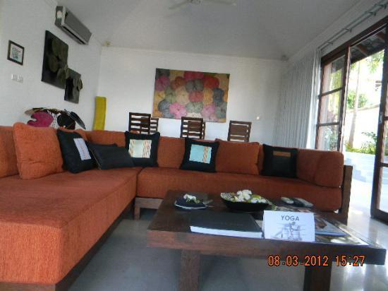 Kanda Residences: Living Area