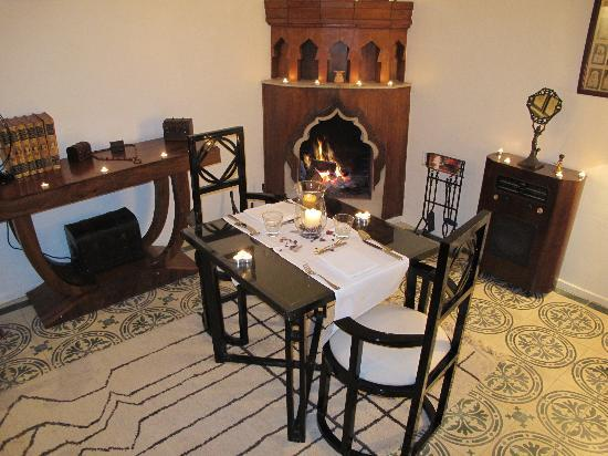 Bellamane, Ryad & Spa: superbe repas en amoureux