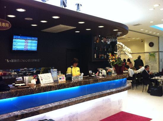 Toyoko Inn Tokyo Akiba Asakusabashi-eki Higashi-guchi: フロント