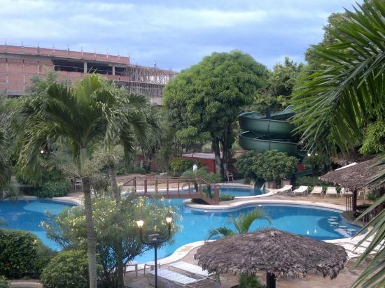 Camino Real Hotel: Vista desde nuestra habitación