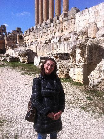 Temples de Baalbek : Georgette, Nakhal tour guide