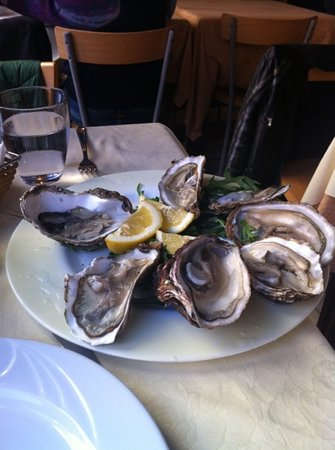 Restaurant Al Centro: oysters