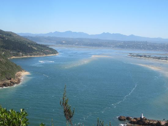 Footprints of Knysna: This view overlooking Knysna should encourage anyone to visit this beautiful town.  Don't forget