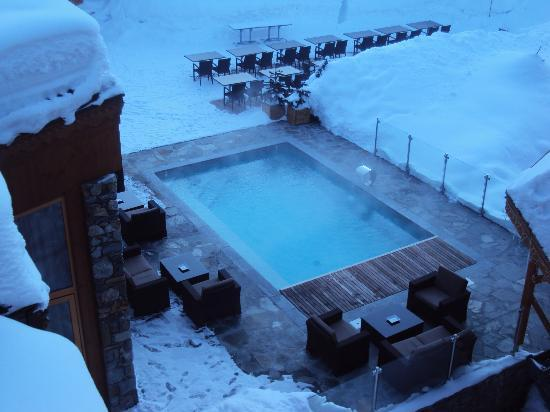 Hotel Annapurna : Try hot pool when it is -17 :)