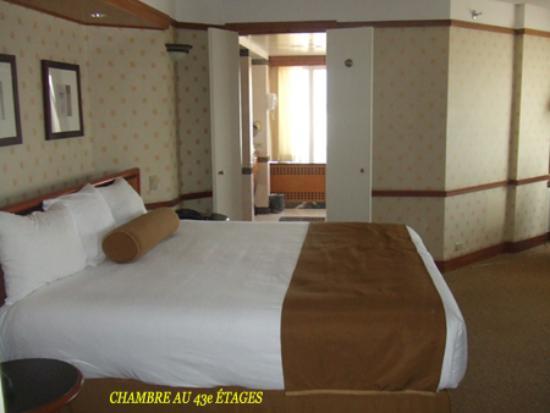 Bally's Atlantic City : La chambre ici est au 43e étages