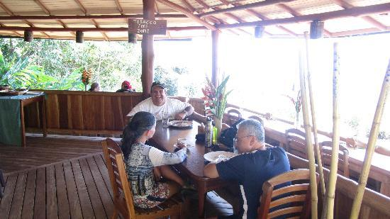 The Gecko Restaurant : Almuerzo!