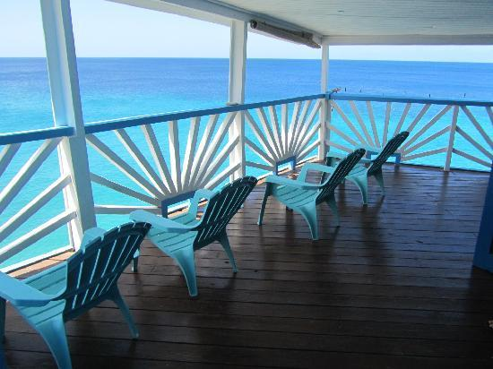 Rancho El Sobrino Curacao: Balkon des Blue View 2-bedroom-Apartment