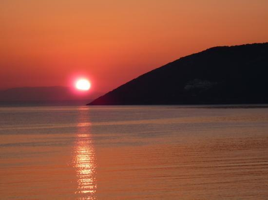 Porto Rafti, Hellas: View from the balcony at dawn 2