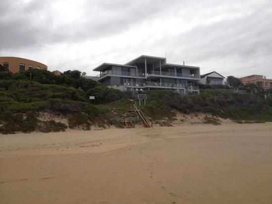 The Ocean View Luxury Guest House: View from the beach