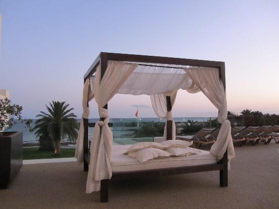 our own balcony area picture of hd beach resort costa. Black Bedroom Furniture Sets. Home Design Ideas