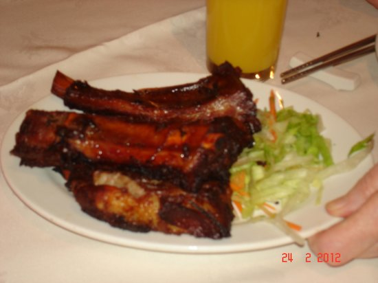 Spare ribs - finger licking good