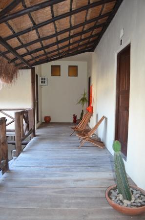 Lo Nuestro Petite Hotel: Interior yard
