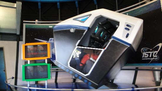 C psula de mission space picture of epcot orlando for Space mission fabric