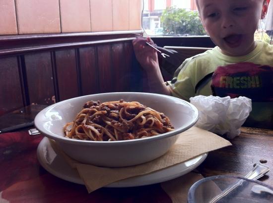 Jack's Restaurant & Bar: Spaghetti bolognaise