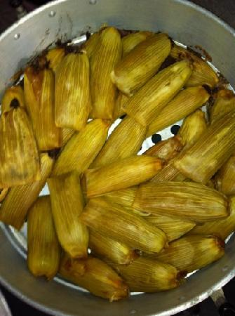 yes we do make Tamales every mexican kitchen has to have some right!! ;)