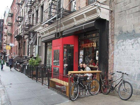 Photo of Italian Restaurant Porchetta at 110 E 7th St, New York, NY 10009, United States